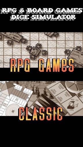 Rpg Board Games Dice