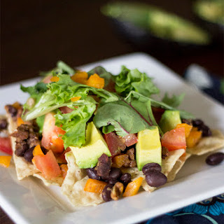 Healthy Nachos.