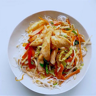 Rice Stick Noodles Chicken Recipes
