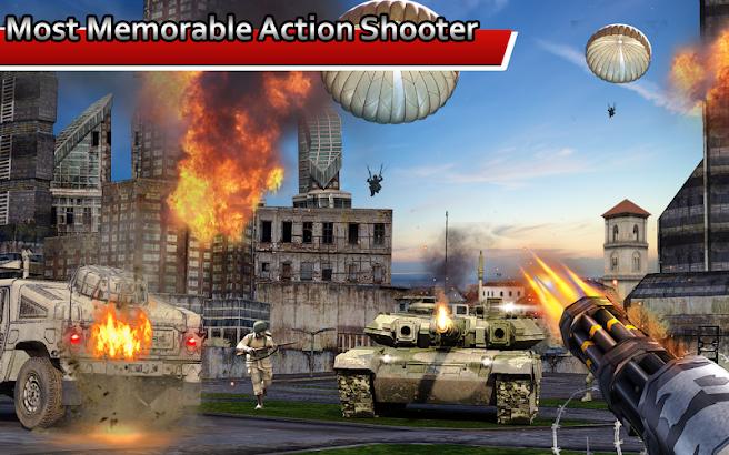 GUNNER'S BATTLEFIELD 2016: SUPERHERO SHOOTER screenshot