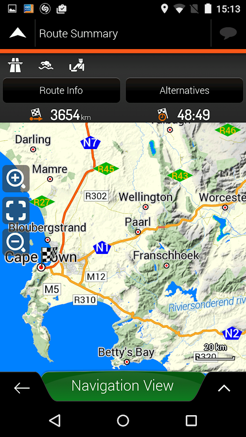 Tracks4Africa Navigation Android Apps on Google Play