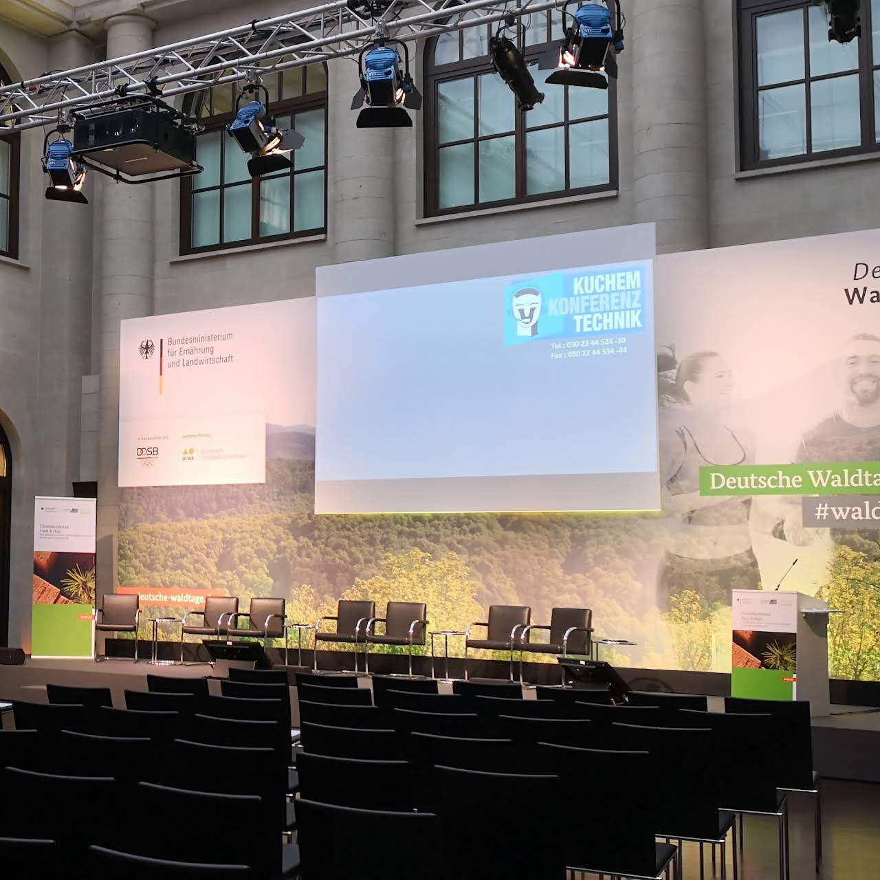 Kuchem Konferenz Technik Veranstaltungstechnik Dienstleistung In