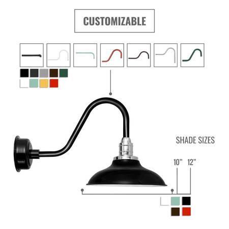 Customizable Peony Indoor/Outdoor LED Barn Light