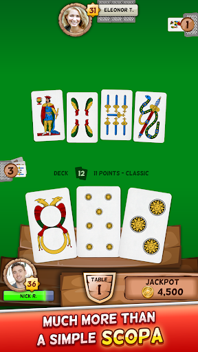 Scopa  gameplay | by HackJr.Pw 1