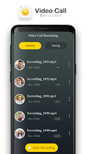 Video Call Recorder, Auto Video Call record Apk  Download For Android 4