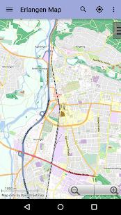 Erlangen Offline City Map Android Apps On Google Play - Erlangen map