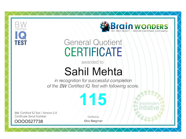 Best DMIT Test Centre in India - Brainwonders (US)