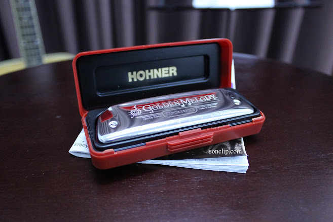 Kèn Harmonica - Hohner Golden Melody Diatonic (key C)