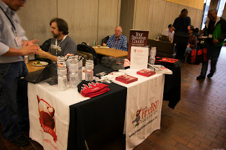 Photo: The FreeBSD booth