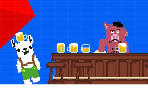 LlAMA with a beer! screenshot 2