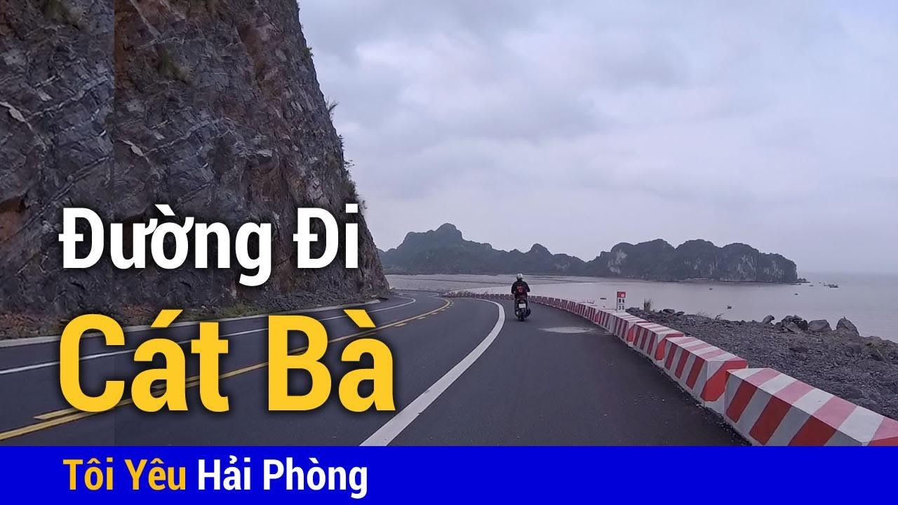 Đường đi xe máy từ Hải Phòng tới đảo Cát Bà