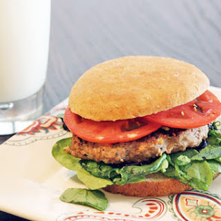 Skinny Worcestershire Turkey Burger.