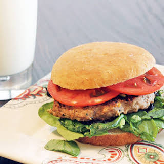 Skinny Worcestershire Turkey Burger.