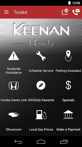 Keenan Honda DealerApp