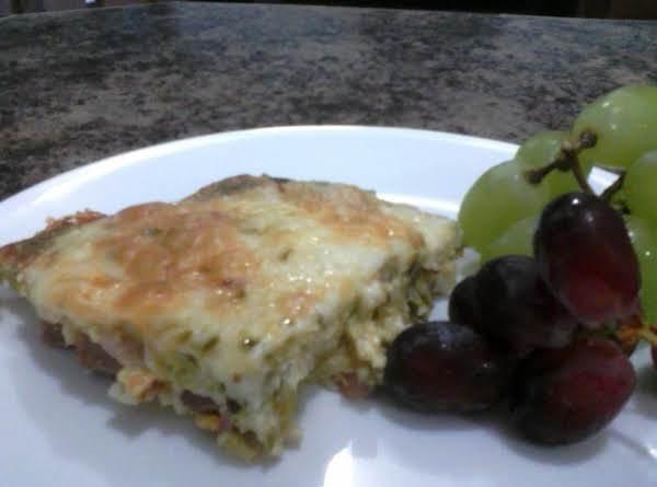 Ham, Asparagus, Cheese Make Ahead Casserole Recipe