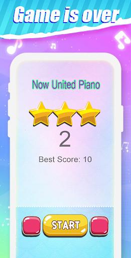 Capturas de pantalla de Piano Tiles Now United 4