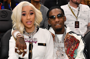 Cardi B and Offset in happier times.