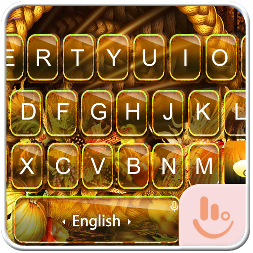 Harvest Autumn Keyboard Theme 個人化 App LOGO-硬是要APP