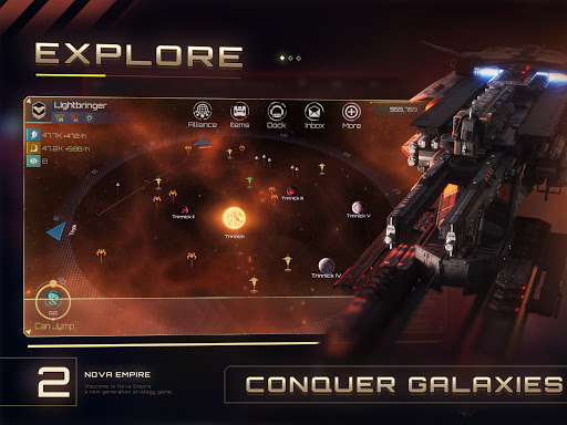 Nova Empire: Space Commander  screenshots 2