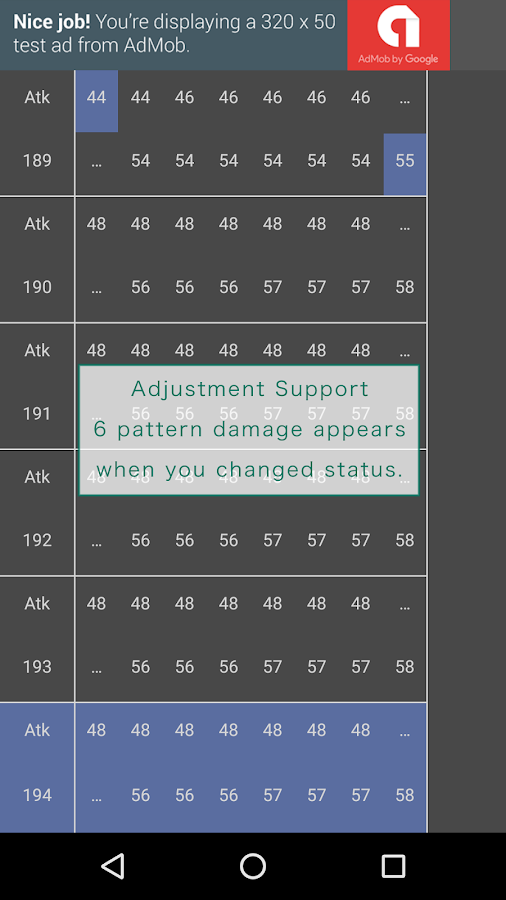 Arc Damage Calculator for SUN MOON- screenshot