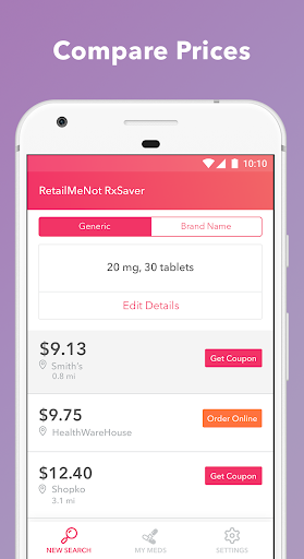 RetailMeNot Rx Saver 3.0.5 screenshots 2