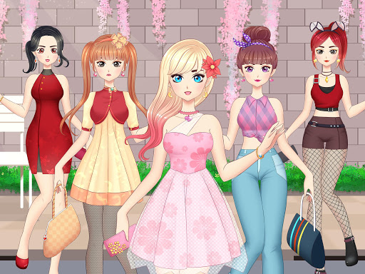 Anime Girls Fashion - Makeup & Dress up apktram screenshots 9