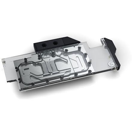 EK vannblokk for skjermkort, EK-Quantum Vector RTX RE Ti D-RGB - Nickel + Plexi