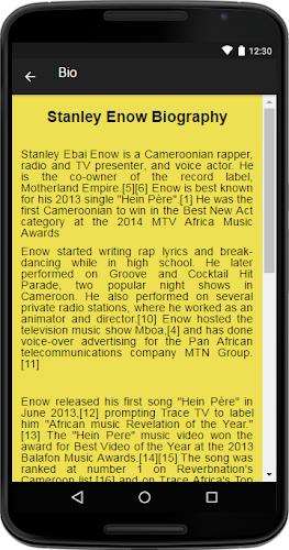 Stanley Enow Music&Lyrics APK | APKPure ai