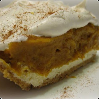 Double Layer Pumpkin Dessert