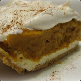 Double Layer Pumpkin Dessert