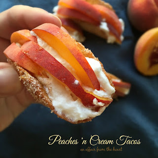 Peaches 'n Cream Tacos