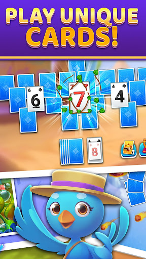 Puzzle Solitaire - Tripeaks Escape with Friends android2mod screenshots 3