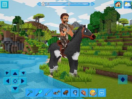 AdventureCraft: 3D Block Building & Survival Craft  screenshots 1