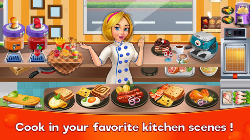 Télécharger gratuit Cooking Cafe Restaurant Girls - Best Cooking Game APK MOD 2