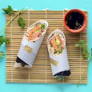 Vegan Sushi Burrito.