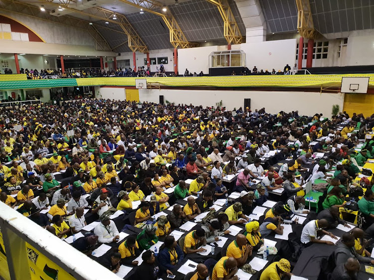The ANC's provincial elective conference.