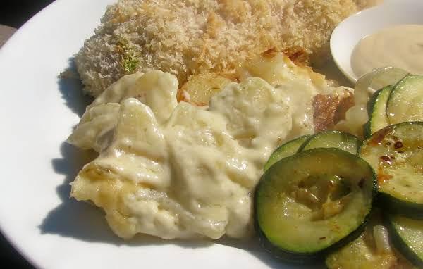 Potato-taragon Gratin