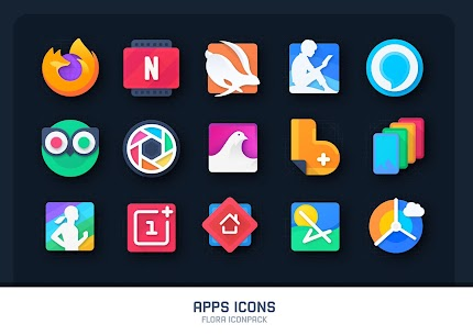 Flora : Material Icon Pack (MOD, Paid) v1.4 5