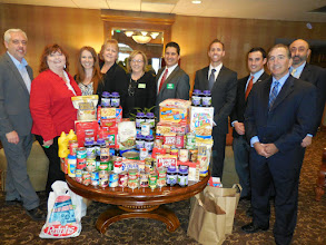Photo: IBA-SFV holds a Food Drive for the SFV Rescue Mission at their Annual Installation Luncheon held on January 21, 2015