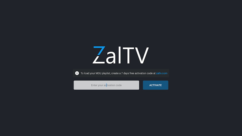 Скачать ZalTV IPTV Player v1 1 5 - All for Android OS