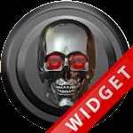 Poweramp Widget Titan Skull Icon