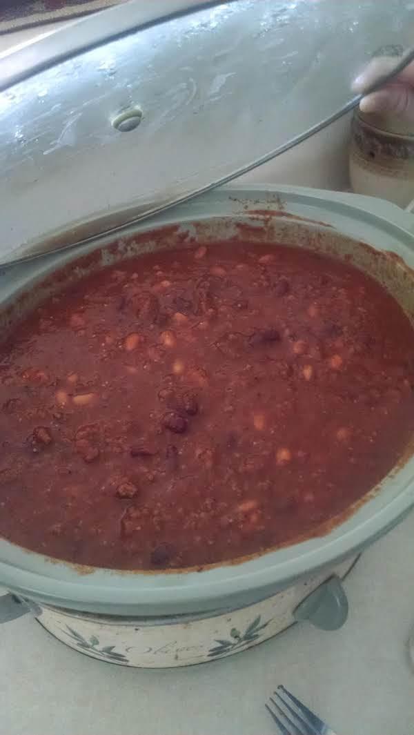Tomatillo And Roasted Red Pepper Chili (no Tomato)