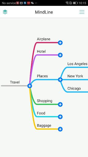 MindLine - Simple Mind Mapping 7.0.2 screenshots 1