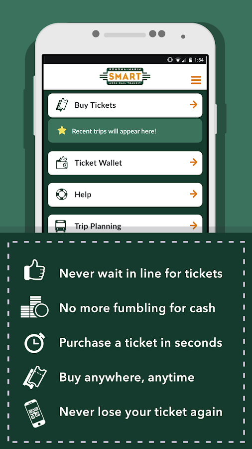 SMART eTickets- screenshot