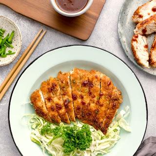 Panko Breaded Chicken Katsu.