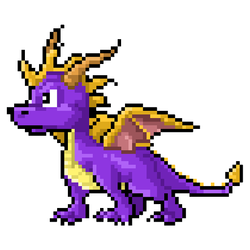 Dragons Color Pixel by Numbers - Sandbox Pixel