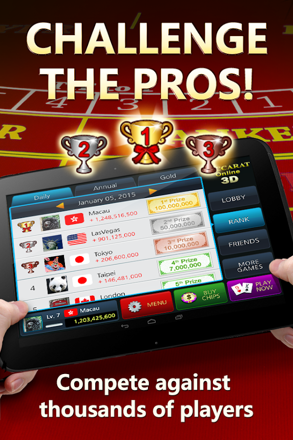 Baccarat Online 3D Free Casino- screenshot