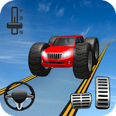 Impossible Driving Prado Stunts: Prado Games