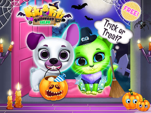 Kiki & Fifi Halloween Salon - Scary Pet Makeover 3.0.25 screenshots 21