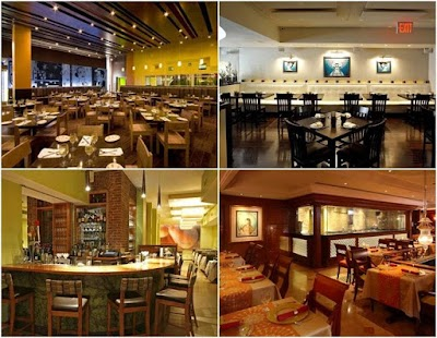 Restaurant Design Ideas fast casual restaurant design ideas with unique ceiling wood and small square table for 4 chairs Restaurant Design Ideas Screenshot Thumbnail